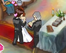 Игра Свадебный поцелуй онлайн