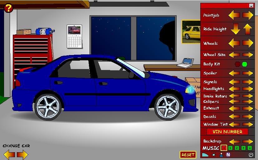 Игра Создай свою машину онлайн