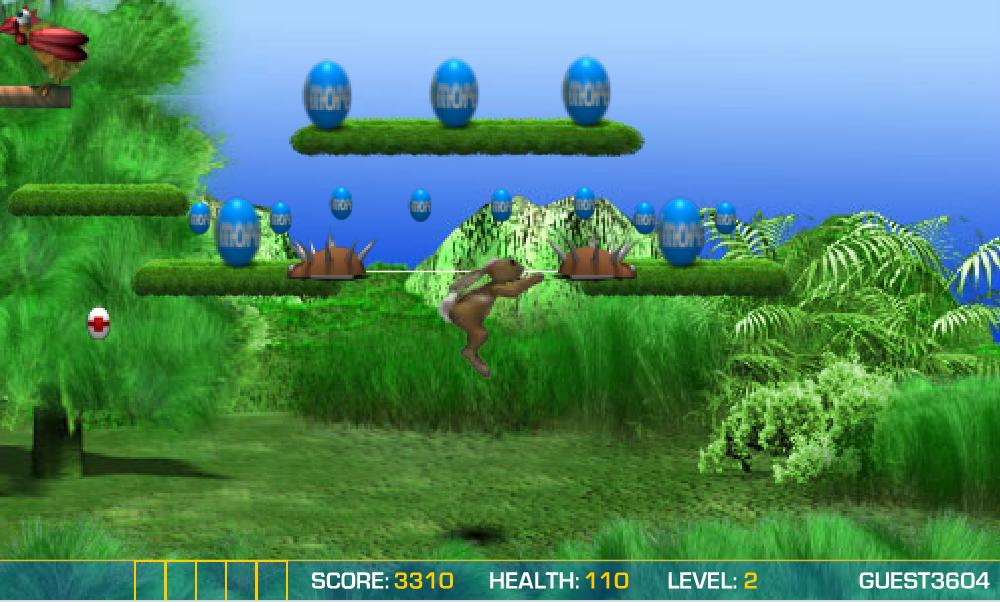 Игра 3d заяц онлайн