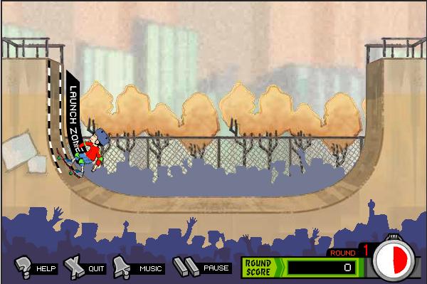 Игра Американский дракон на скейте - играй онлайн