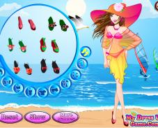 Игра Барби летом онлайн