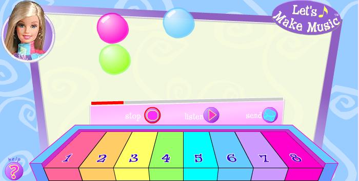 Игра Барби пианино онлайн