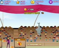 Игра Выступление дельфина онлайн