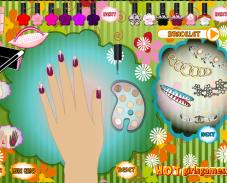 Игра Дизайн ногтей Винкс онлайн