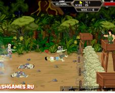 Игра Зомби остров онлайн