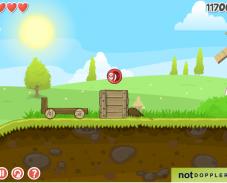 Игра Красный мяч 4 онлайн