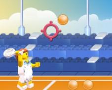 Игра Лего теннис онлайн