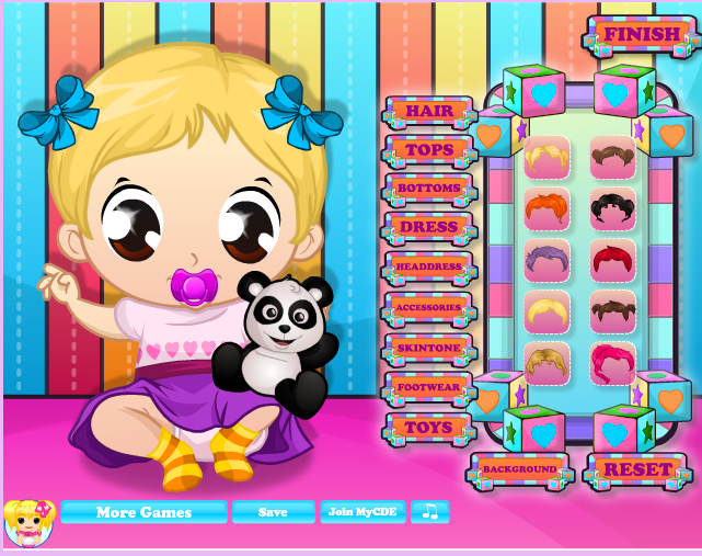 Игра Маленькая кукла - играй онлайн