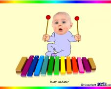 Игра Малыш и ксилофон онлайн