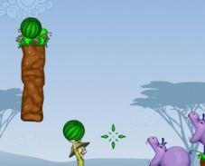 Игра Накорми бегемота онлайн