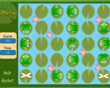 Игра Накорми лягушек онлайн