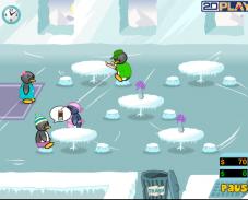 Игра Накорми пингвина 2 онлайн