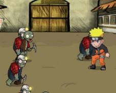 Игра Наруто против зомби онлайн