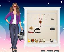 Игра Одевалка Кристен Стюарт онлайн