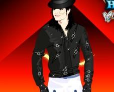 Игра Одевалка Майкл Джексон онлайн