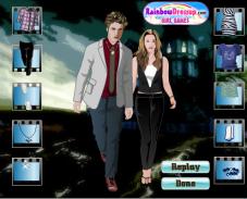 Игра Одевалка Эдварда и Беллы онлайн