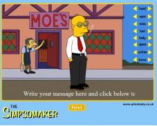 Игра Одевалка симпсоны онлайн