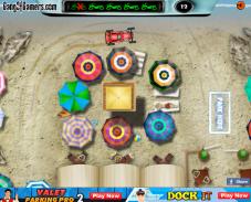 Игра Парковка на пляже онлайн