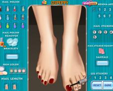 Игра Педикюр для ног онлайн