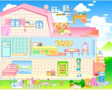 Игра Переделка дома барби онлайн