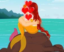 Игра Поцелуй с русалкой онлайн