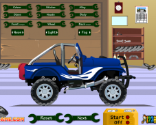 Игра Прокачай джип онлайн