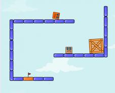 Игра Прыгающая коробка онлайн