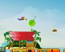 Игра Птичка учится летать онлайн