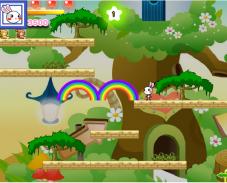 Игра Радужные кролики онлайн