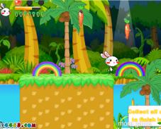 Игра Радужные кролики 3 онлайн