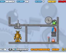 Игра Разрушь робота онлайн