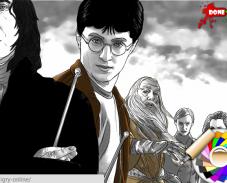 Игра Раскрась Гарри Поттера онлайн