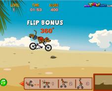Игра Скуби ду на велосипеде онлайн
