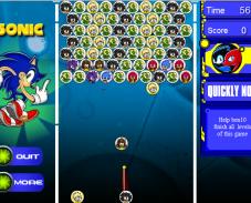 Игра Соник пазл онлайн