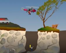 Игра Спасательный вертолет онлайн
