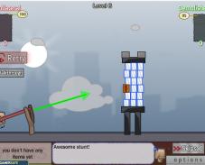 Игра Стрелять из рогатки онлайн