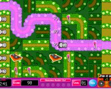 Игра Хомяк в лабиринте онлайн
