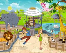 Игра Двое в зоопарке онлайн