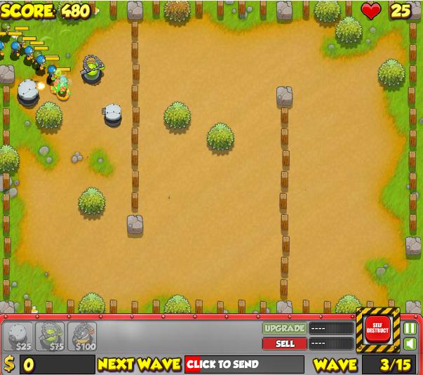 Игра Атака Пингвинов 4 онлайн