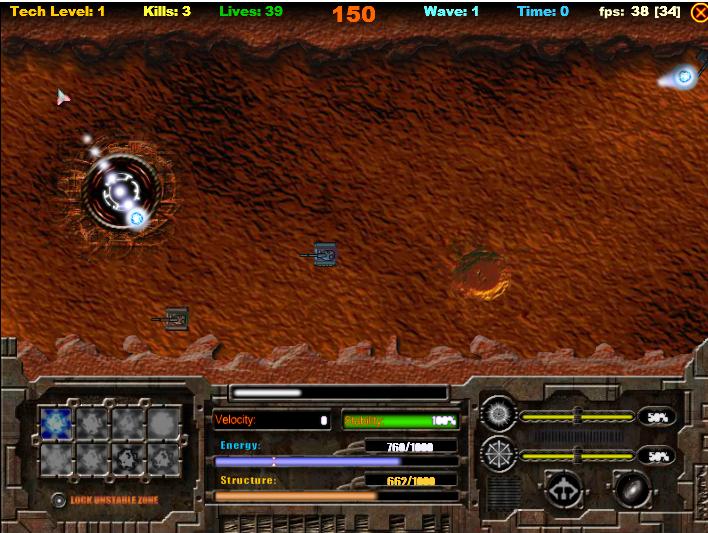 Игра Баллистическая ракета онлайн
