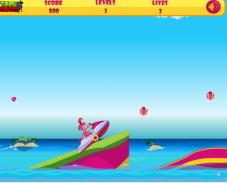 Игра Барби на лыжах онлайн