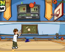 Игра Бен 10 баскетбол онлайн