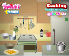 Игра Готовим ванильное мороженое онлайн