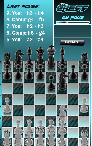 Игра Затронь шахматы онлайн