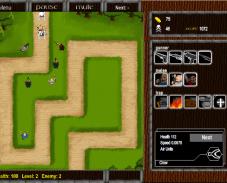 Игра Защити деревню онлайн