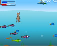 Игра Кот рыболов онлайн
