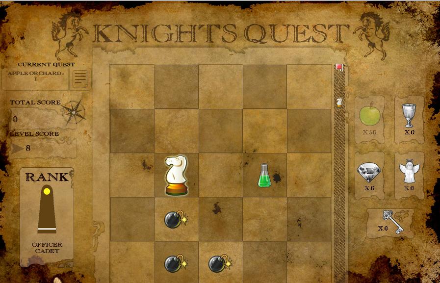 Игра Миссия шахматного коня онлайн