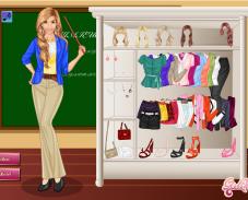 Игра Одевалка учитель онлайн