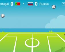 Игра Отбей мяч головой онлайн