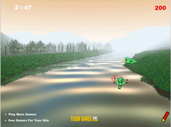 Игра Охота на птиц онлайн